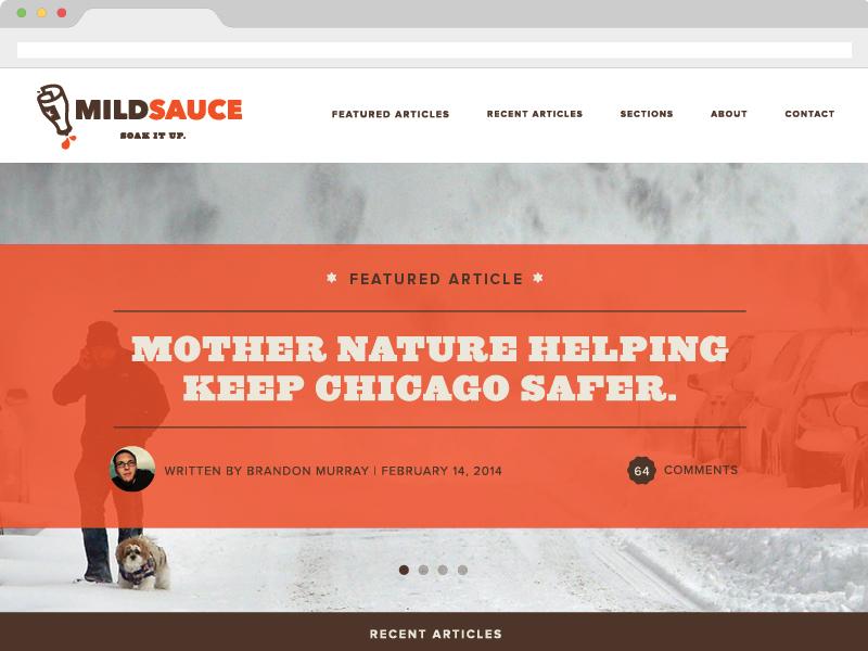 Mild sauce site