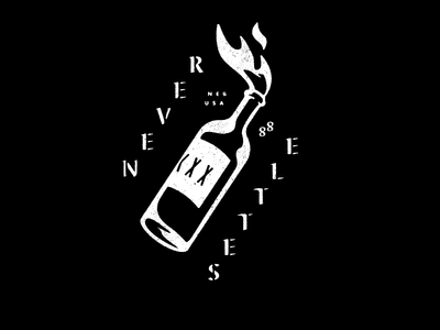 Never Settle 88 tee settle never cocktail molotov