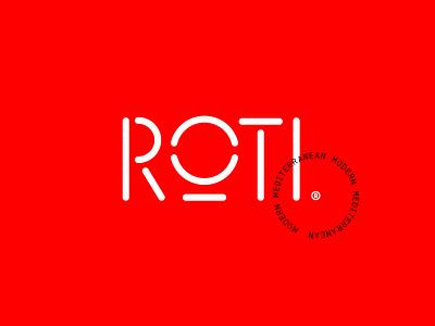 Mediterranean typography branding stencil red killed mediterranean modern