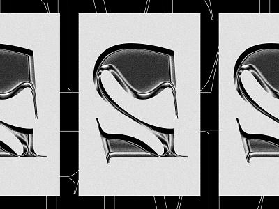 091919 poster typography experimental chrome progressive five