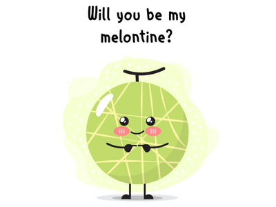 Melontine design art illustrator vector illustration vector comics comic illustration
