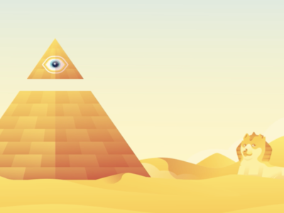 Pyramid Bitcoin Investment Game Mock-Up Example