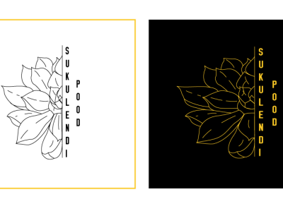 Flower Shop illustration graphic design ui branding logo