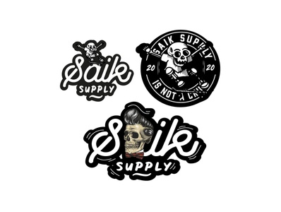 saik logo stickers stickers stickersdesign vectorart illustration characterdesign vector logo fantasyart logodesign