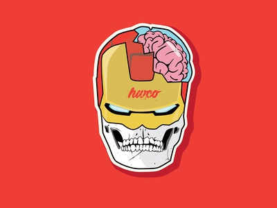 Ironman Skull Face