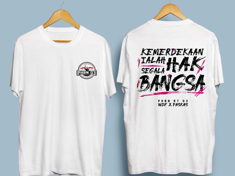 Tshirt of PHBN 2019 tshirtdesign mockup indonesia designer independence day logodesign tshirt design
