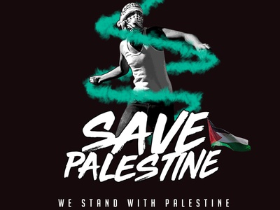 Palestine Brave Man