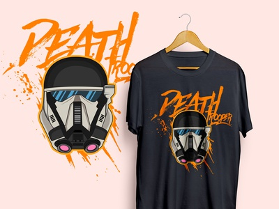 Death Trooper Vector Tshirt