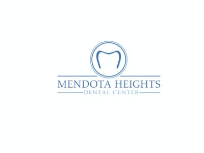 Simple yet elegant logo idea solution for dental center