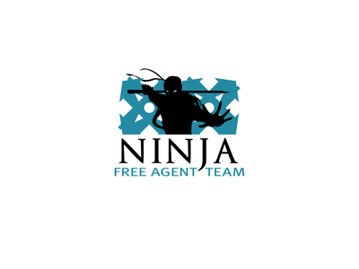 Suggested logo for real estate support team called Ninja.