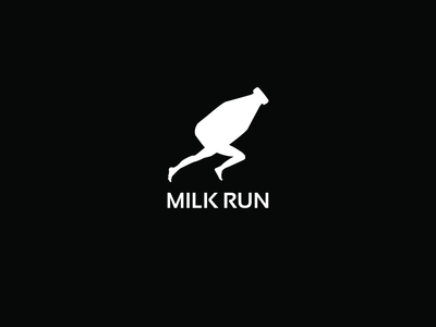 Logo competition entry for clothing company called Milk run