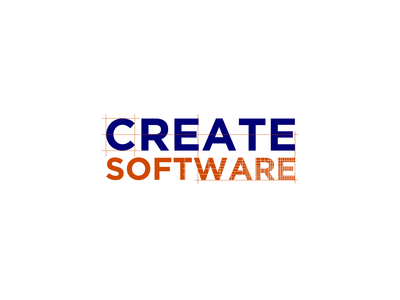 Suggested logo for Create Software company