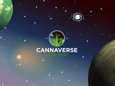 Cannaverse Shop Social Network background