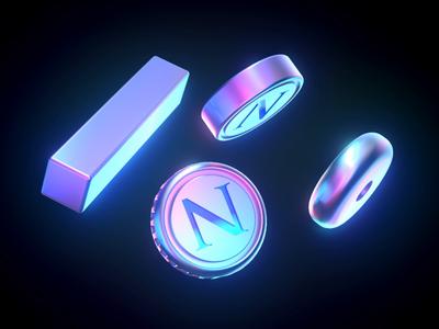 Grabient Filmshader - Lighting&Render material lighting spectrum cube redshift design render motion illustration c4d cinema4d 3d animation