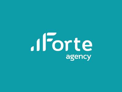 Forte logo animation aftereffects logotype ui loading branding logo animation 2d flat mograph logo motion animation