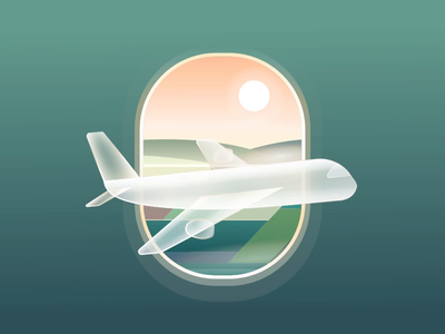 Airplane - Loading animation(Freebie ) application design illustration vector json aep freebie iconanimation icons svg animation loading airplane motion ui 2d animation icon ux