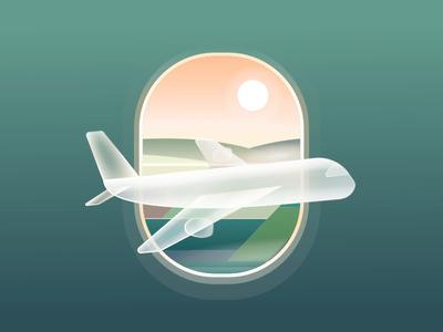 Airplane - Loading animation(Freebie ) application design illustration vector json aep freebie iconanimation icons svg animation loading airplane motion ui 2d animation icon ux