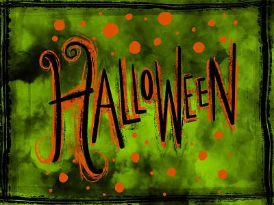 Halloween 🎃 illustration sketch halloween design hand lettering handlettering hand drawn spooktober lettering halloween typography