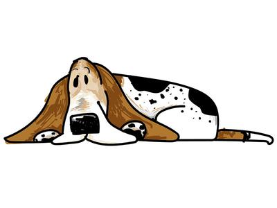 A Dog Named Moose illustration