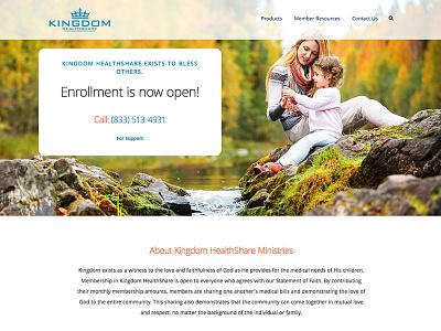 Healthshare Website Design design website ux design ux hero image wordpress healthcare homepage design user experience web design website design