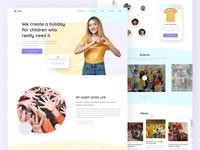 """Kolo"" charitable foundation - Creation Web Page"