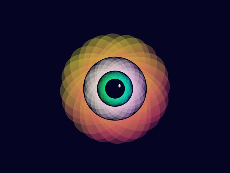 Το μάτι illustrator eye bigbrother