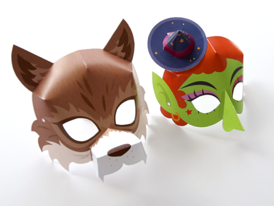 Halloween Kids Masks