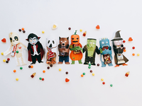 Halloween Candy-bar Wrappers