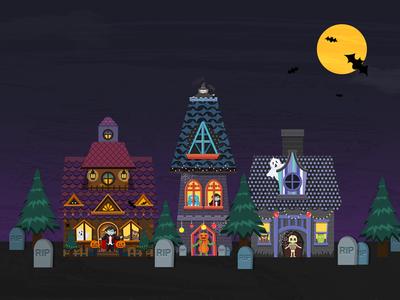 Halloween Spirited House