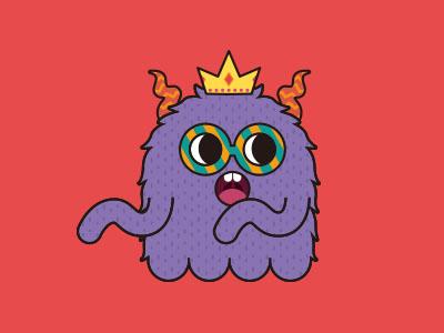 Monsticky Purple Monster