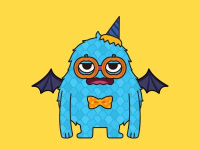 Monsticky Blue Monster