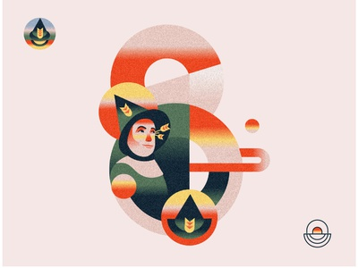 S is for Scarecrow 🌾 Wizard of OZ Event Illustration design designer netherlands amsterdam south africa cape town branding logo texture gradient editorial illustration communication color illustration