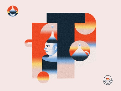 T is for Tinman 💿 Wizard of OZ Event Illustration web designer freelancer amsterdam cape town composition graphic designer branding south africa design texture communication gradient editorial illustration color illustration