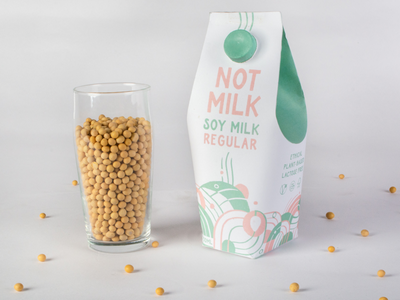 Packaging for Soy Milk cape town. packaging design label soy milk milk bottle abstract packaging