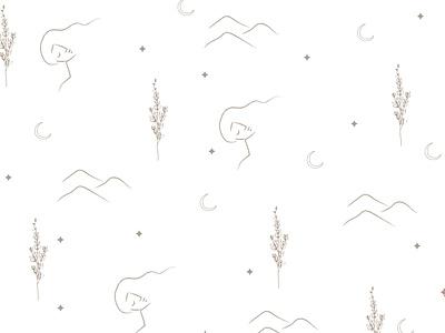 Pattern design for Launil icon vector brandidentity box design baner branding minimal illustration graphic design design