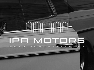 IPA motors logo design graphic design graphic designer branding brandidentity typography minimal bmw motorsport motors logo auto logo auto automotive motors logodesign logo