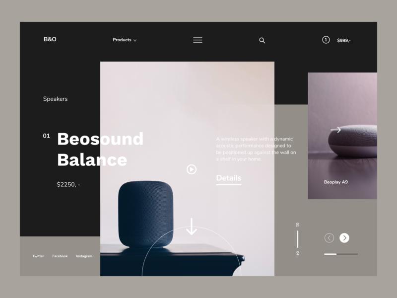 Lucky number 10 website branding product page bluetooth speaker app speakers