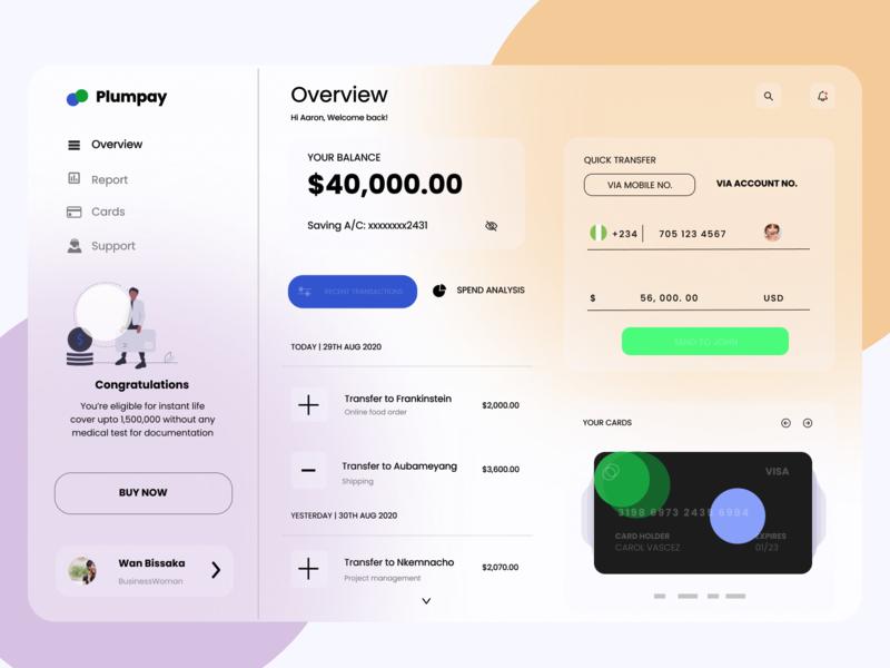 Plumpay wallet payment app branding mobile app design website design website ui ux app figma product page