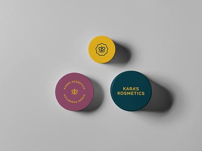 Brand identity design for a cosmetics brand flat logo clean design typography logo design brand design brand identity