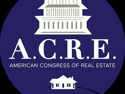 A.C.R.E. Beaver County Logo flat icon vector typography logo design branding