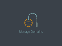 Manage Domains - icon set for new product