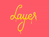 Layer Lettering