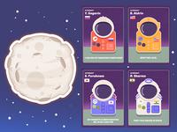 Astronaut cards