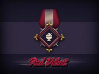Red Velvet Badge