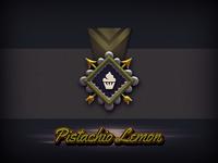 Pistachio Lemon Badge