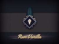 Rum Vanilla Badge
