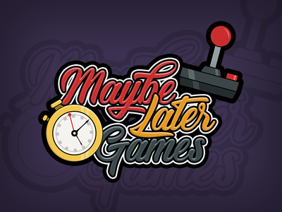 Maybe Later Games mobile casual joystick logo games