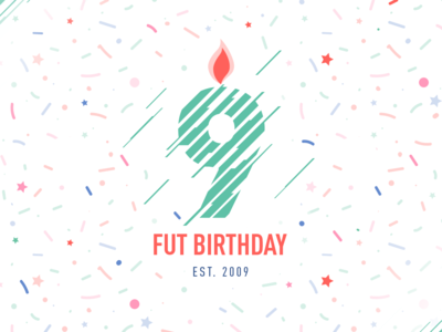 Fifa Ultimate Team Birthday 2018 keyart candle birthday fifa18 fifa fut