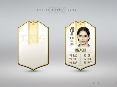 FUT19 - Icon item design item design fut19 fifa ultimate team fifa game players soccer football cards