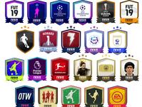 FUT19 - SBC badges design design icon badge squad building challenges fifa ultimate team fut19 squad sbc fifa19